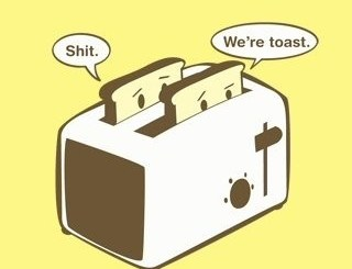 Bread in the Toaster
