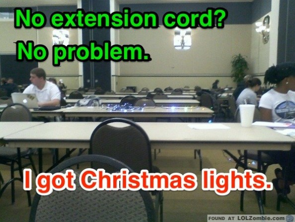 Christmas Extension Cord