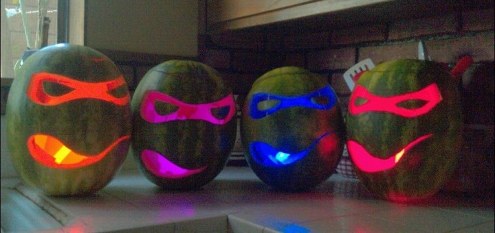 Ninja Turtle Watermelons