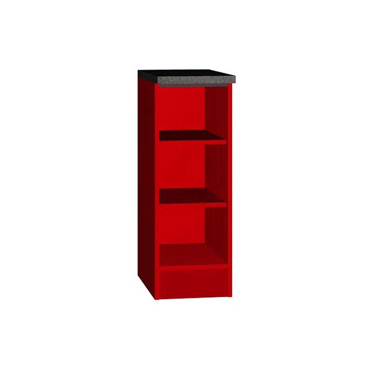 Unterschrank Regal Unterschrank Regal Stefano 03 In Rot B X H X T Ca 30 X 85 X 40cm