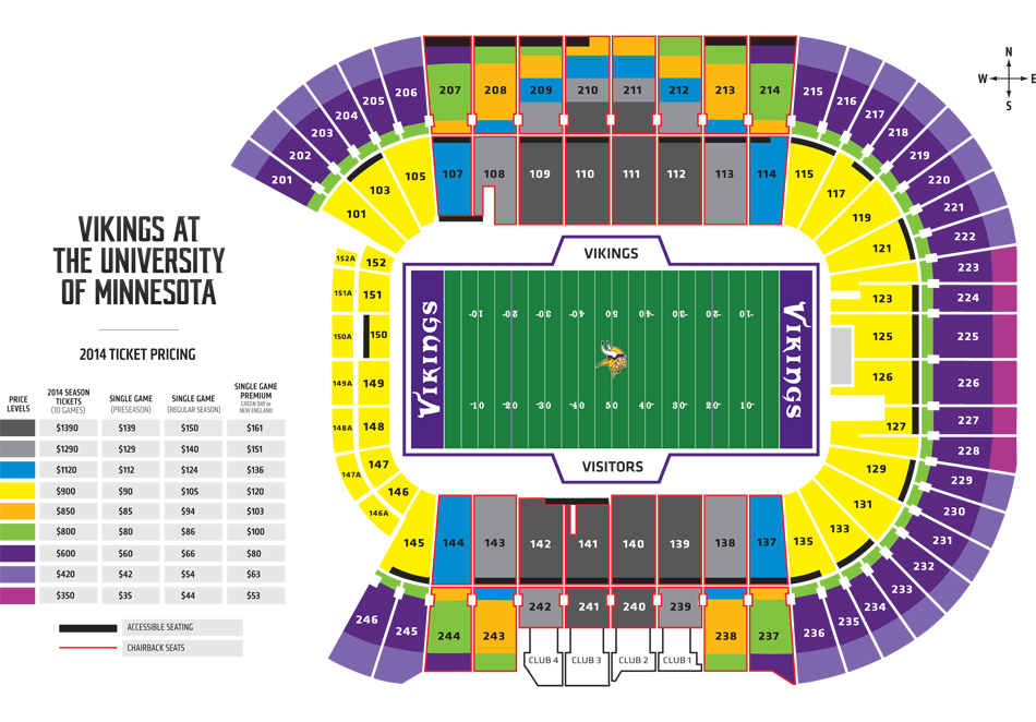 New Green Bay Seating Chart vikings seating chart pretty lambeau