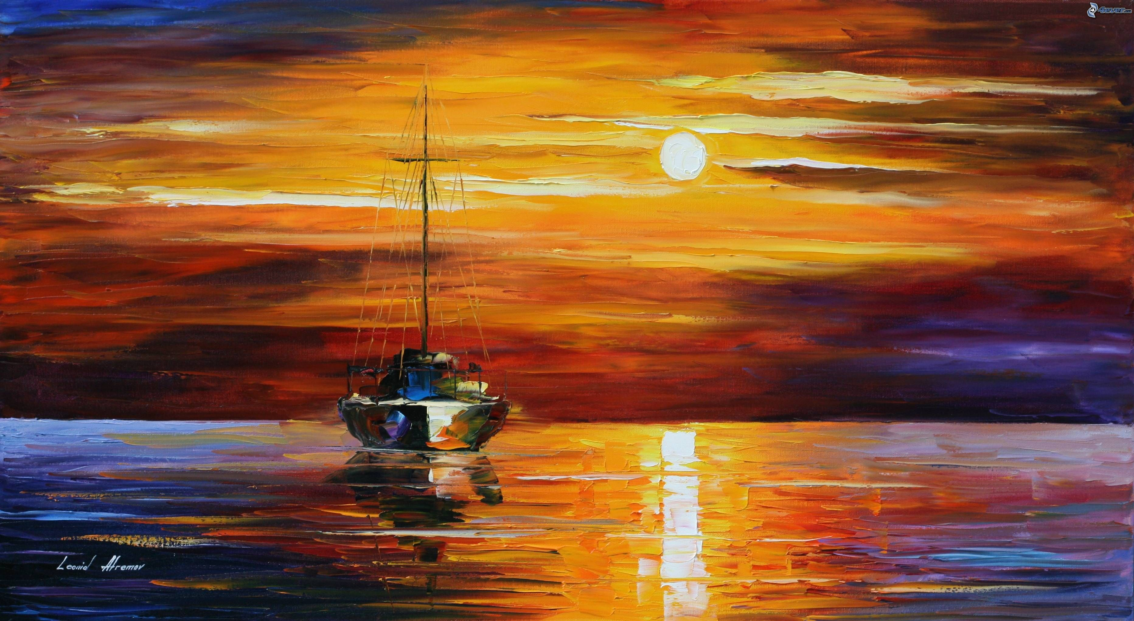 Cuadros Sobre El Mar Oil Painting Ship On The Sea Http Lomets