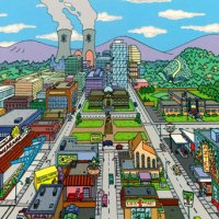 Universo Simpsons: Mapa completo de Springfield