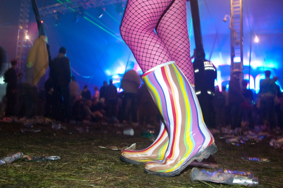 raver wellies taken at HiFi festival