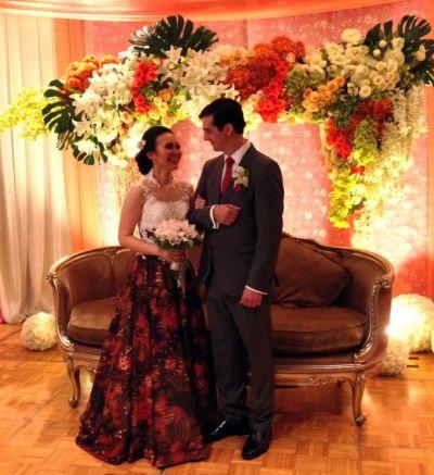 Batik Wedding Dress by Gladicious   Bridestory.com