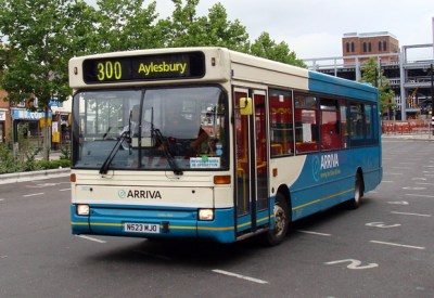 London Bus Routes | Arriva The Shires | Route 300, Arriva the Shires 3823, N523MJO, High Wycombe
