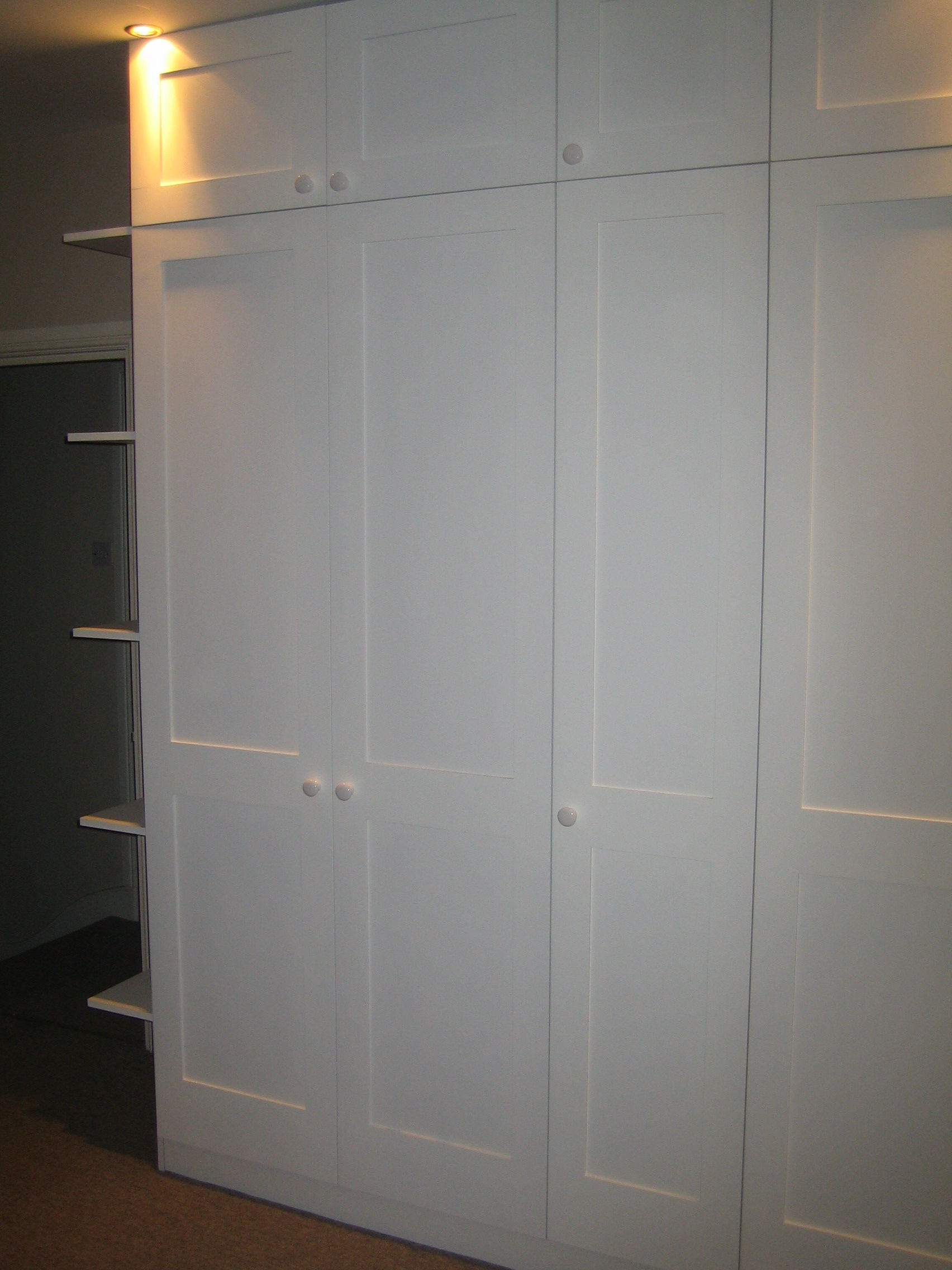 Wall Paint Style Custom Made Wardrobes