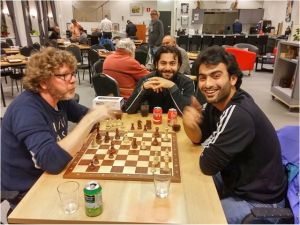 Chess with asylum seekers