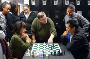 Chess mediated counselling