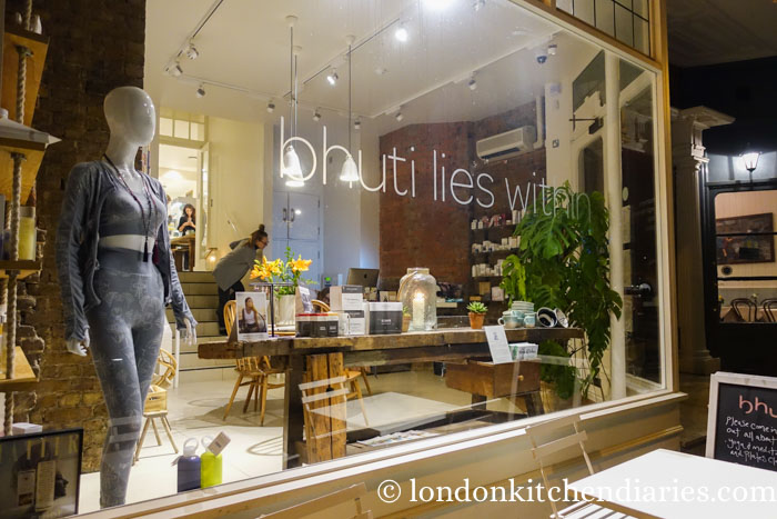 Yoga and Vegan Delights at Bhuti in Richmond London