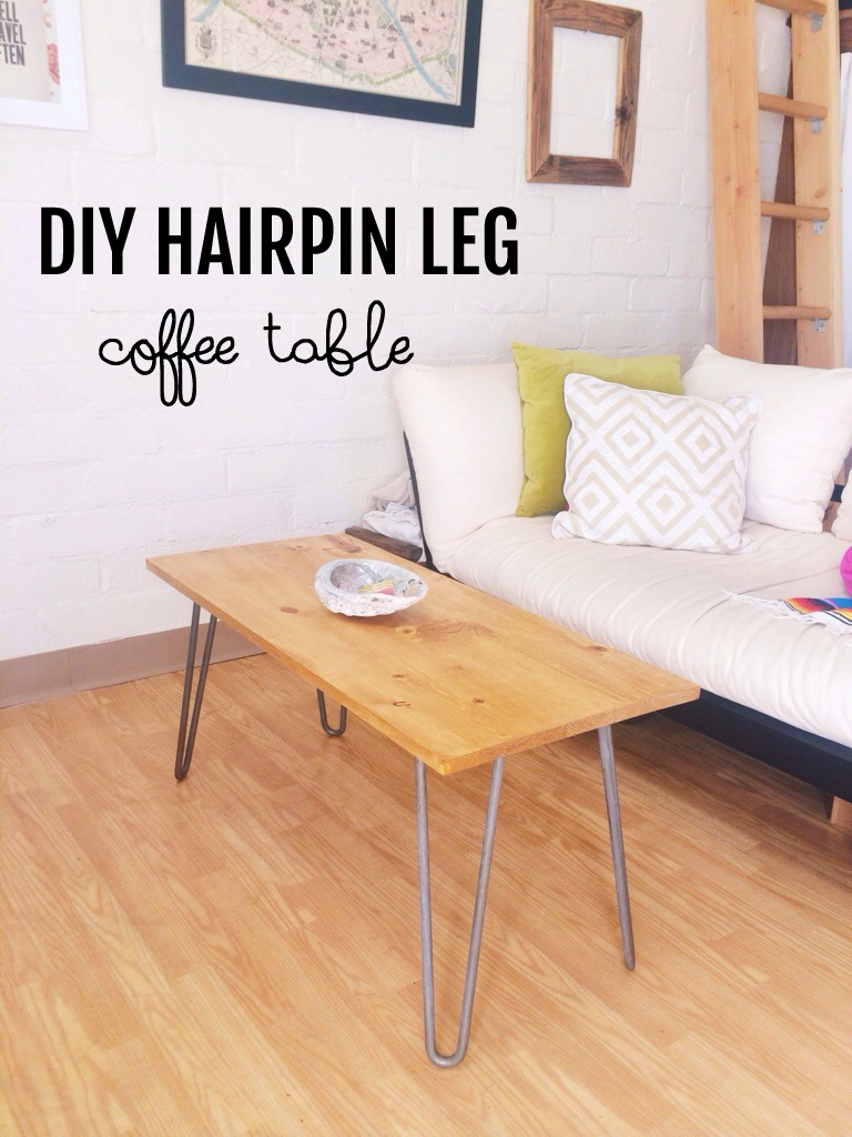 Diy Desk With Hairpin Legs Diy Hairpin Leg Coffee Table London Like The City