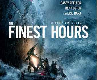 The finest hours movie Disney Poster