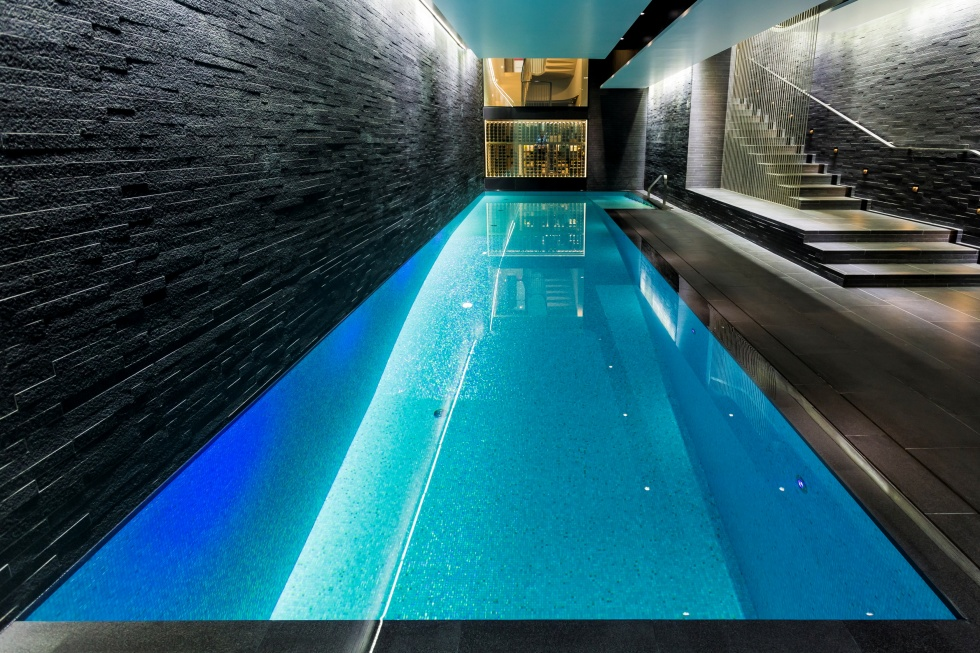 L Shaped Swimming Pool Indoor Swimming Pool Servicing | Showcase | Lspc