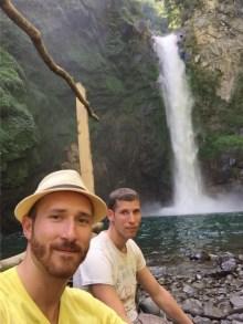 Dominik und Michael in Batad (Philippinen)