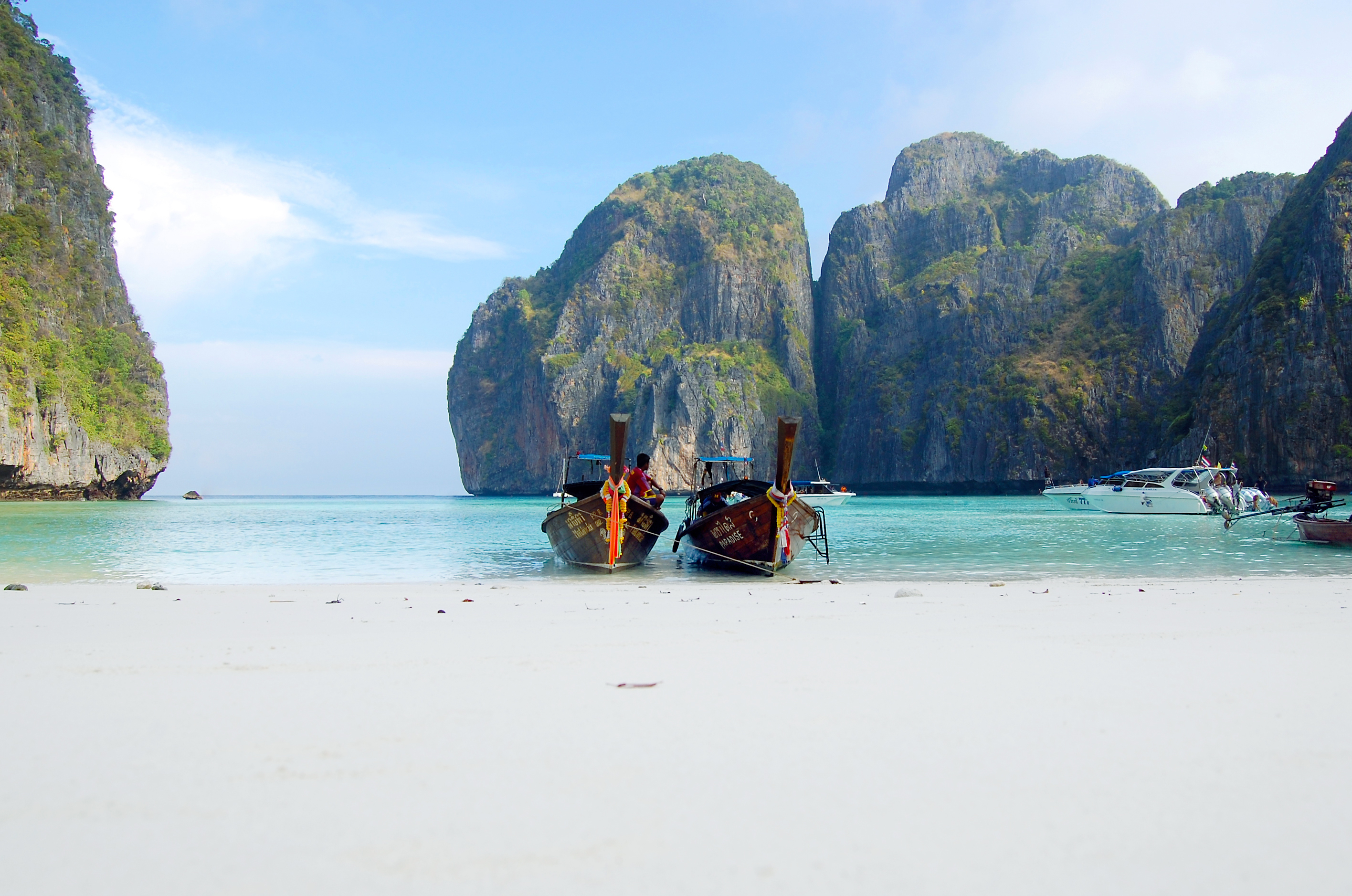 """The Beach"" bei Phi Phi Islands"