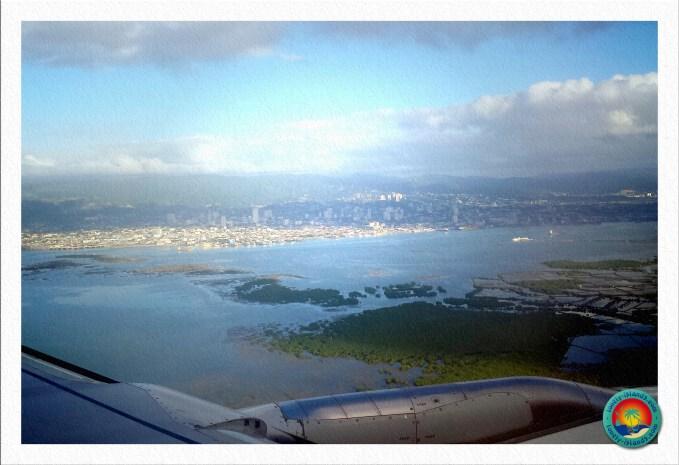 Anflug auf Cebu