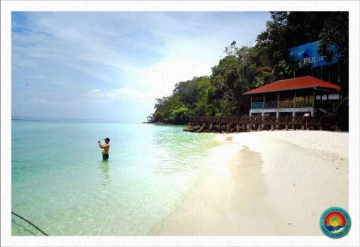 Strand von Pulau Payar