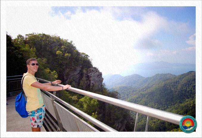 Atemberaubender Ausblick bis Thailand