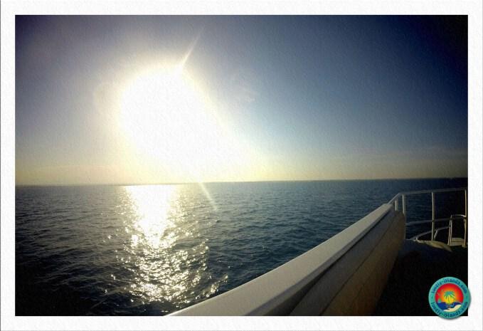 Ausblick vom Tauchboot
