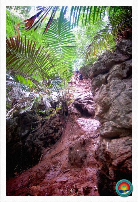 Abstieg zur Lagune von Railay