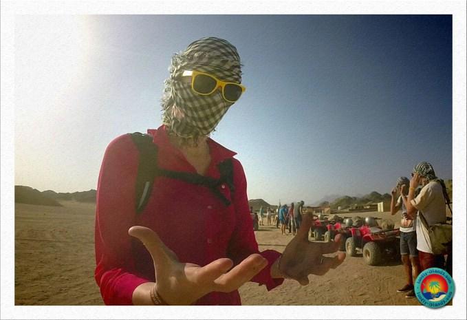 Wüstensafari - Dreckige Hände