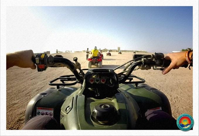 Wüstensafari - Action auf dem Quad