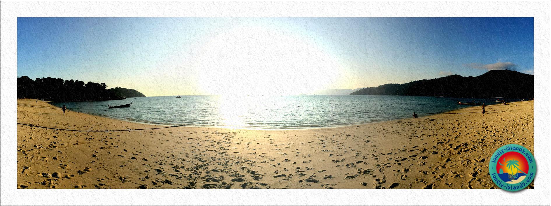 Sunset Beach Panorama