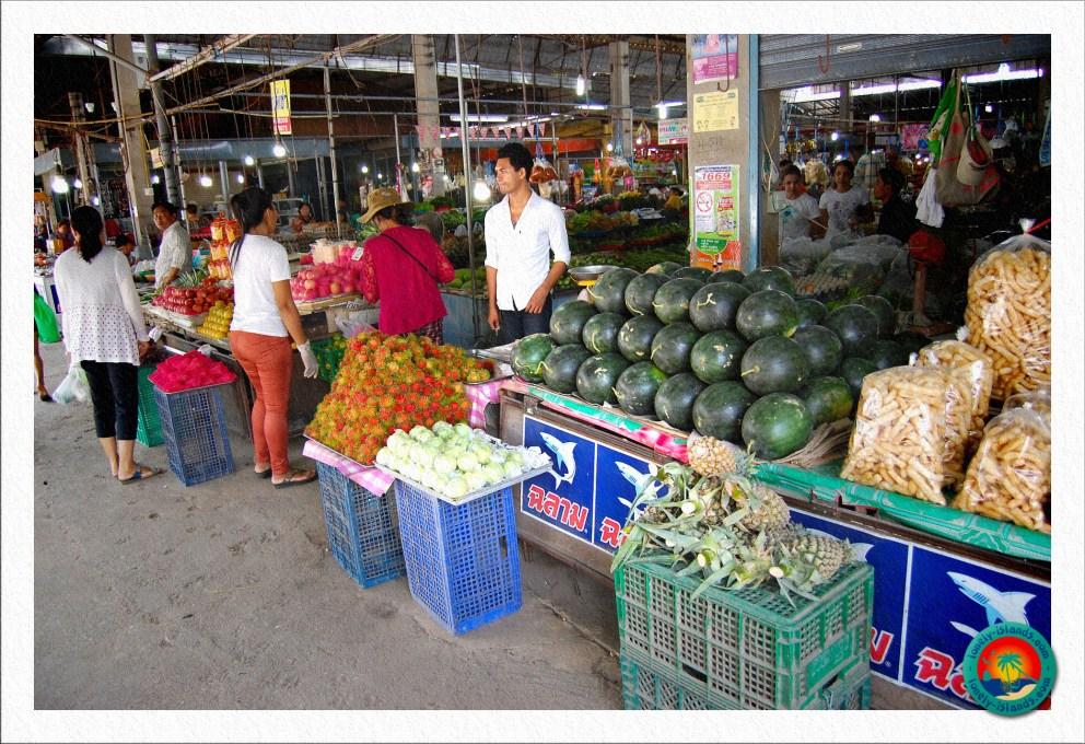 Frische Früchte auf einem Markt