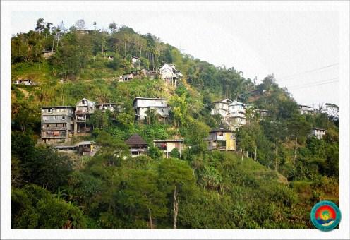 Wohnhäuser in Banaue