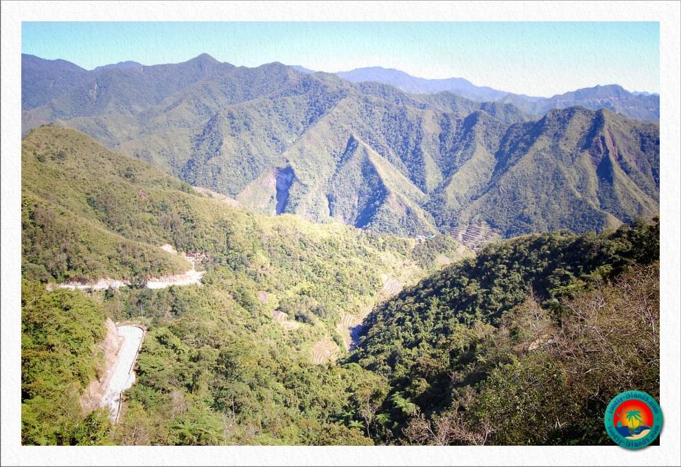 Gebirgslandschaft von Banaue