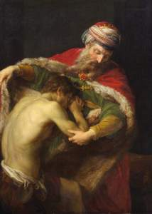 Return of the Prodigal Son, by Batoni