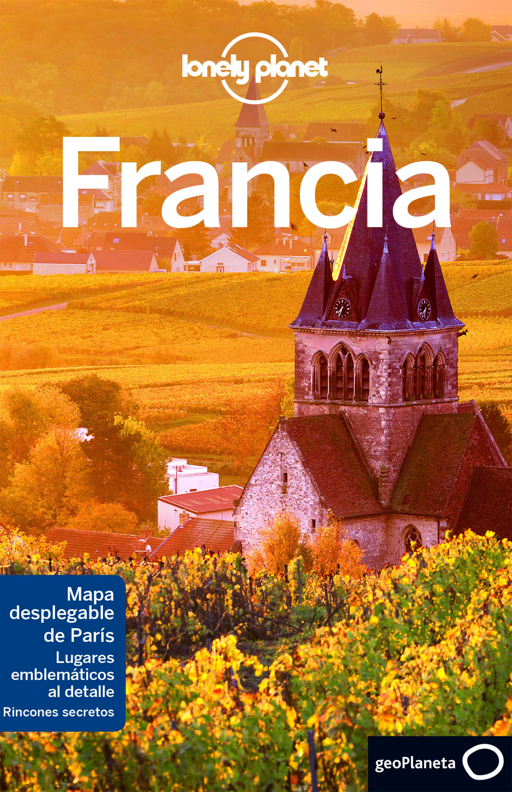 Libros Franceses Francia 7 Lonely Planet