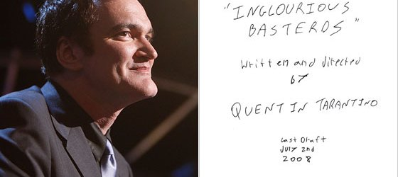Script Review of Tarantino's 'Bastards'