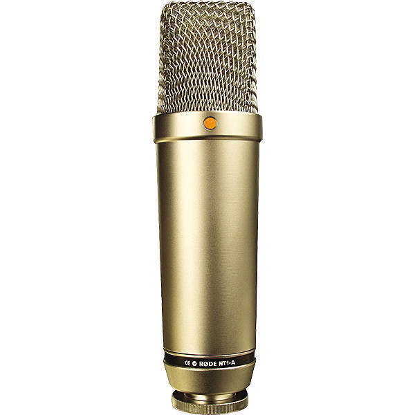 Satin Nickel Rode Nt1a - Condenser Microphone - Long & Mcquade Musical