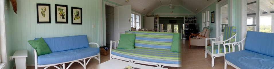 Living room panoramic view.