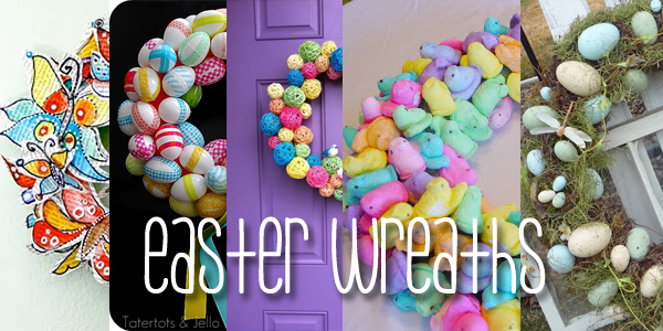 Easter Is On Its Way: Wreaths to Make