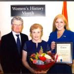 Thanks for Trailblazer Award from Delia DeRiggi-Whitton