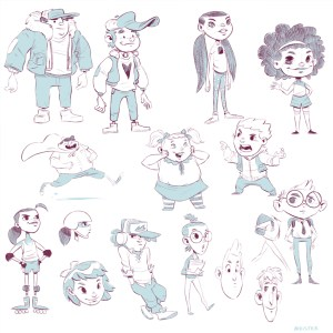 Concept Art by Eric Meister, LWS Character Designer