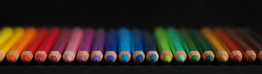 crayons in aline