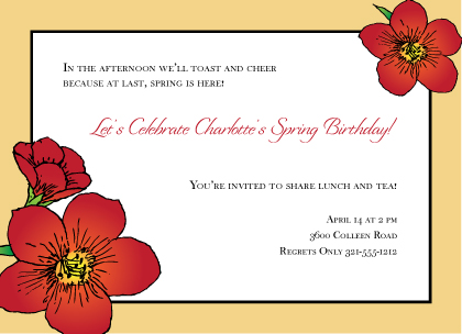 Birthday Party Invitations, Cards  Birthday Party Announcements - cards party