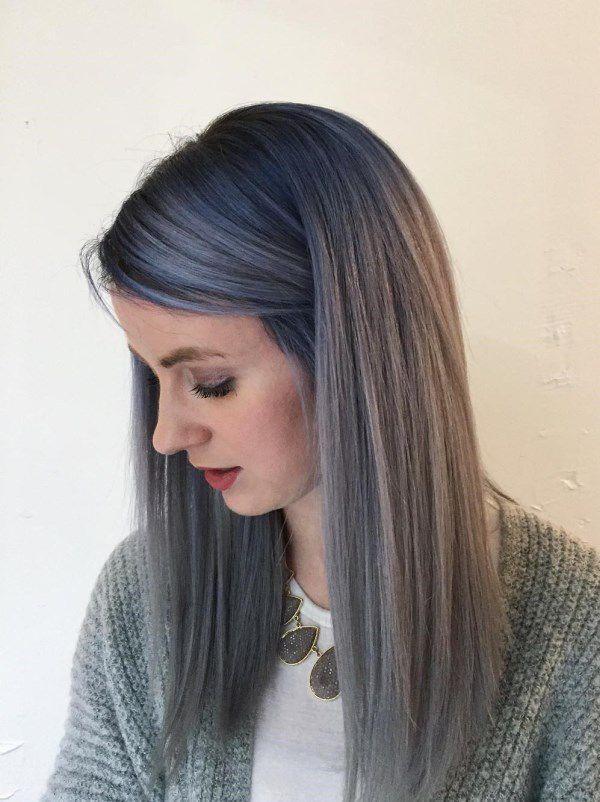 стрижки без челки на длинные волосы