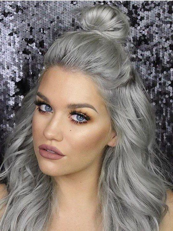 седой блондин цвет волос