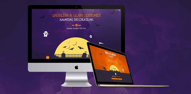 Free Paranormal Website Templates Download Free Halloween Free HTML5