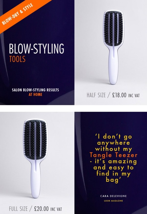 tangle, tangle teezer, tangle teezer brush, hair brush, detangling, hair care, hair care products, beauty products, beauty awards, allure beauty awards, detangling, blow dry, blow dry tools