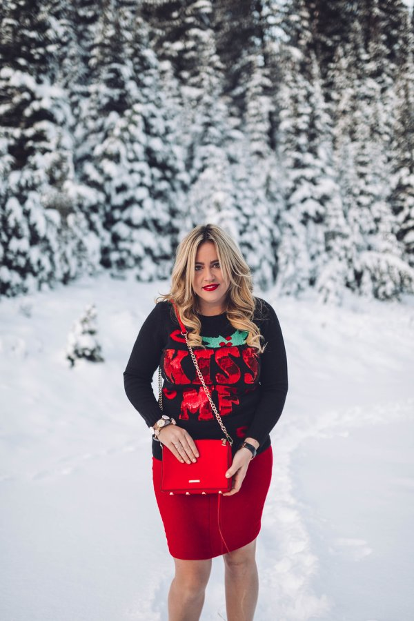 Christmas Sweater xx TJ Maxx, christmas sweater, ugly christmas sweater, christmas ootd, christmas fashion, christmas style, holiday look, holiday party look, tj maxx