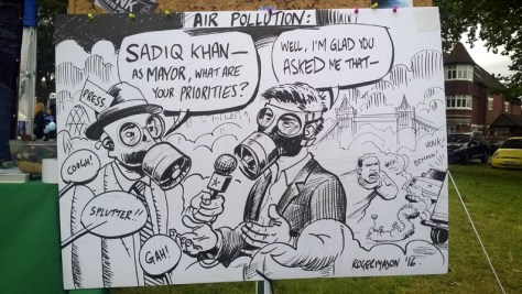 sadiq khan_cartoon_air pollution london_greenpeace_roger mason