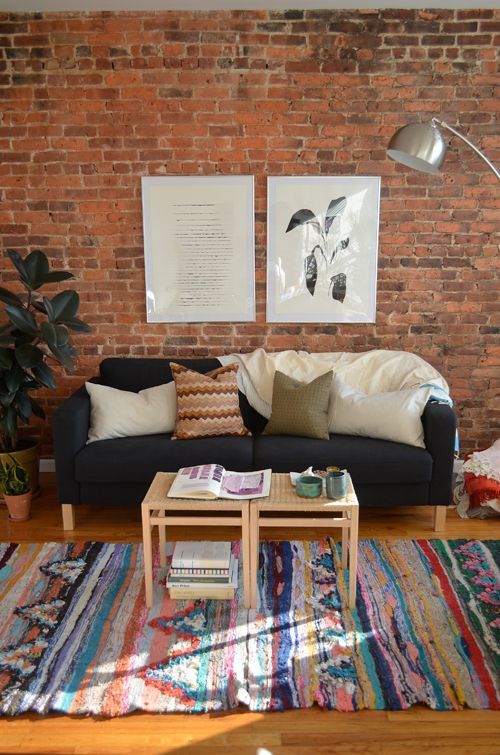 Loom Sofa 54 Eye-catching Rooms With Exposed Brick Walls - Loombrand