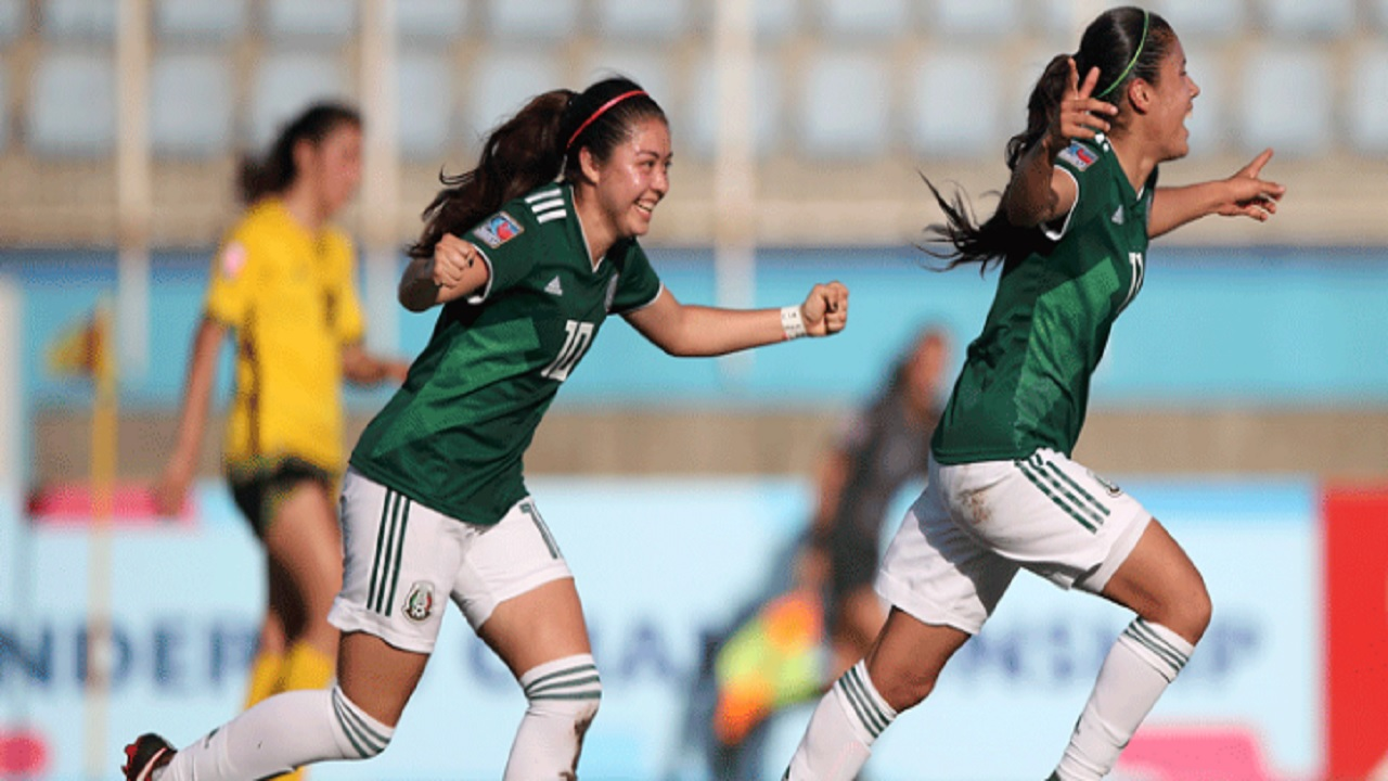 Kff Mexico Jamaica Flop Against Mexico In Concacaf Under 20 Women S