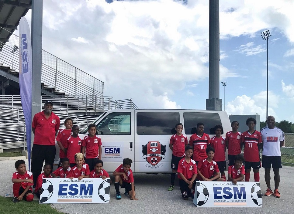 Excel Sports Management supports youth football in Cayman Loop News