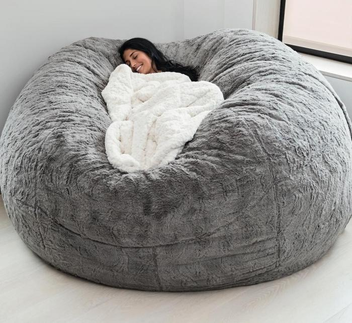 Sitzsack Riesig Chill Sack: Giant Bean Bag - Loot Nerd